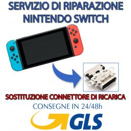 NINTENDO SWITCH NON CARICA...
